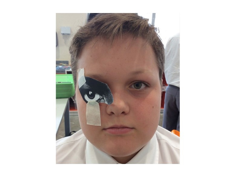 DCIS Year 8 Students' Faces Become Works of Art
