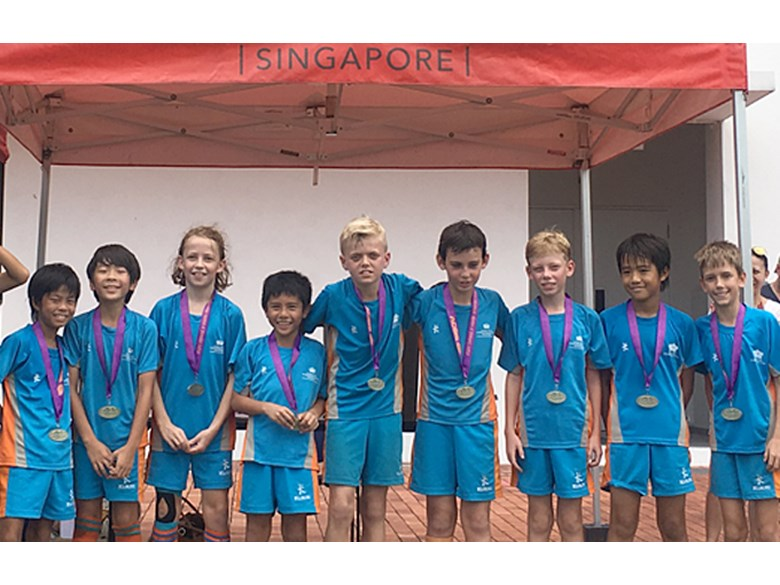 Under 11 Lions 'A' Team Win Gold