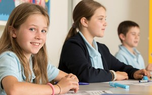 Nord Anglia students in the classroom