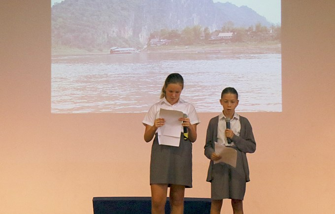 Year 7 Laos Trip Assembly Performance