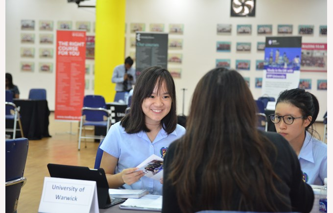 British International School Hanoi UK University Fair