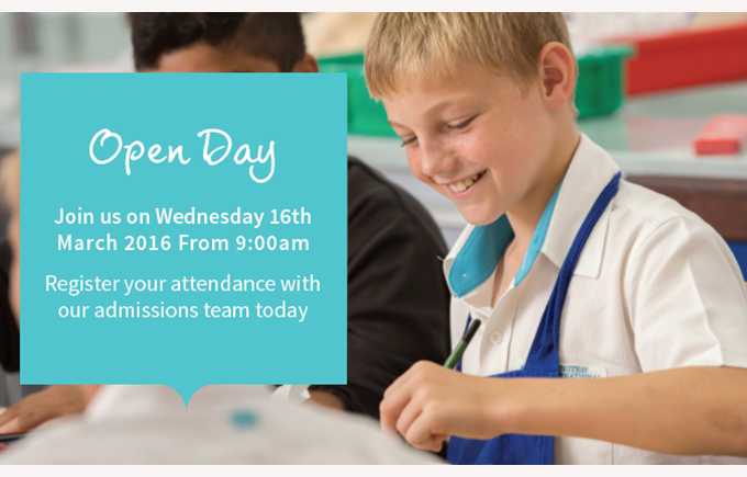 Open Day Spring 15