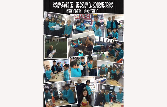 Year 5 begin their new topic Space Explorers