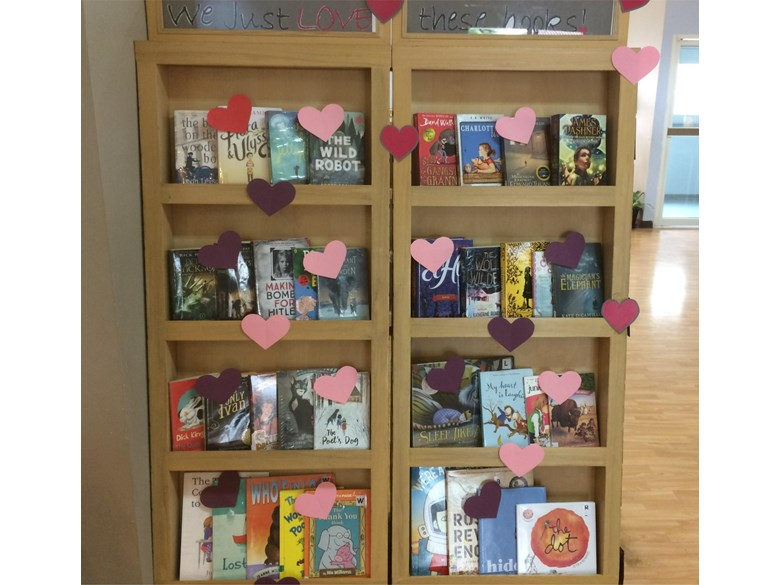 valentines library
