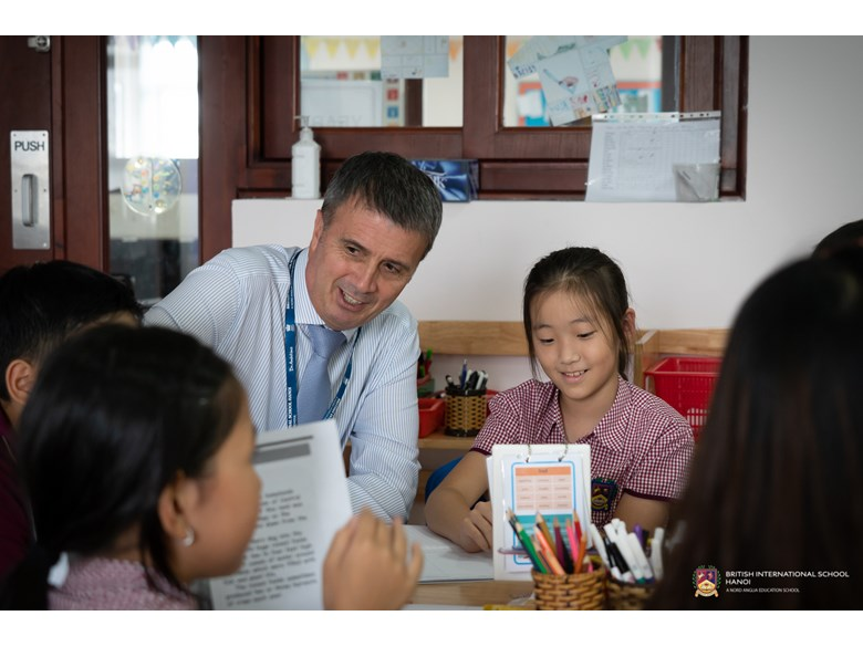 BIS Hanoi - Andy Puttock, the Director of Education for Nord Ang