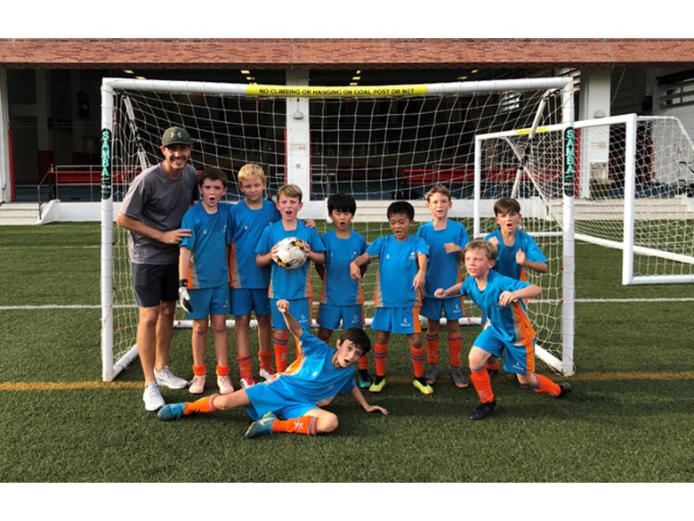 Dover Court International School Singapore Under 10 Lions Football
