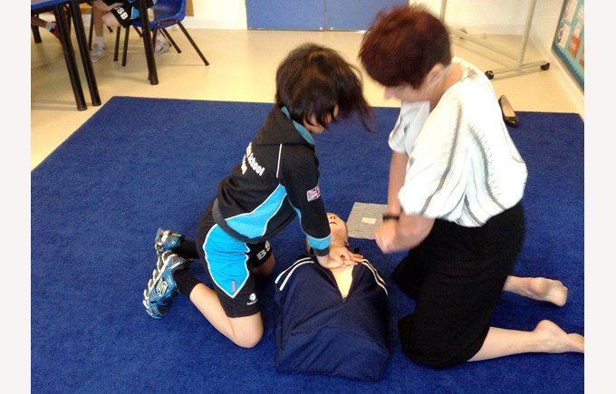 Y5 first aid training