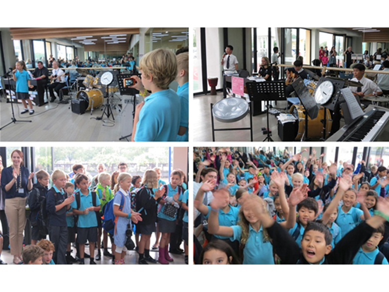 The British International School Shanghai, Puxi celebrates its 10th Anniversary with 10 Hours of Music