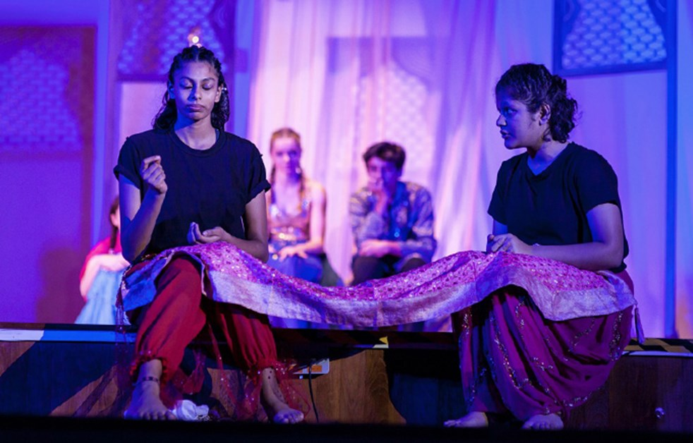 Scene from Dover Court's Production of Arabian Nights