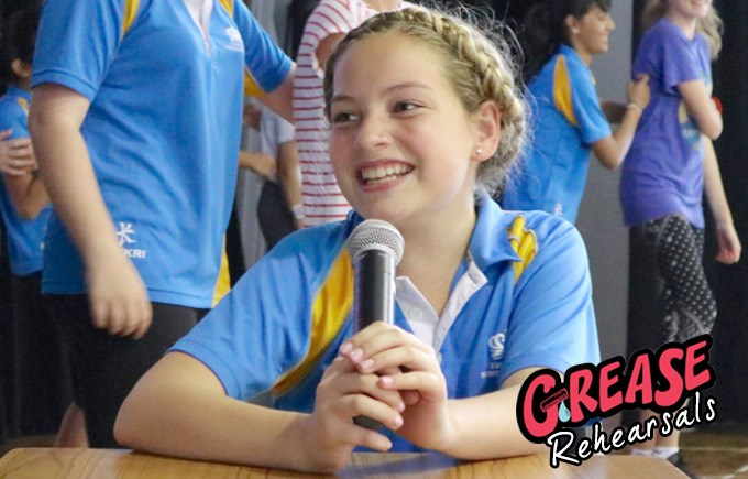 Grease Rehearsals: Sandy