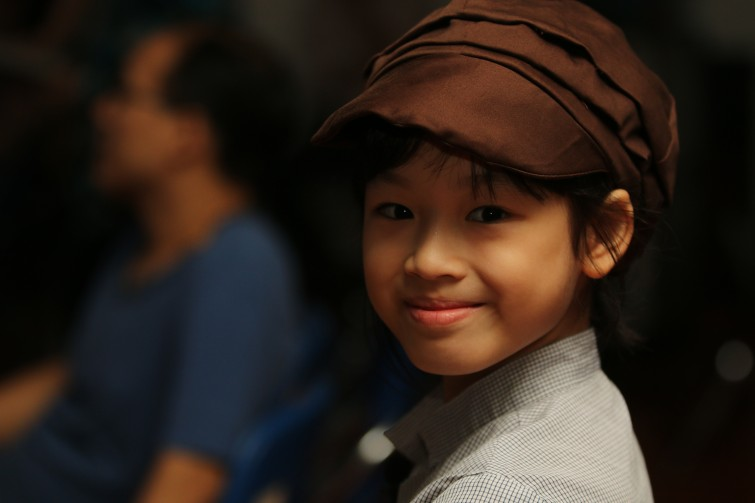 Aladdin at British International Tu Xuong Primary School December 2014