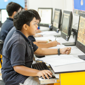 Students in the IT department | Regents International School Pattaya