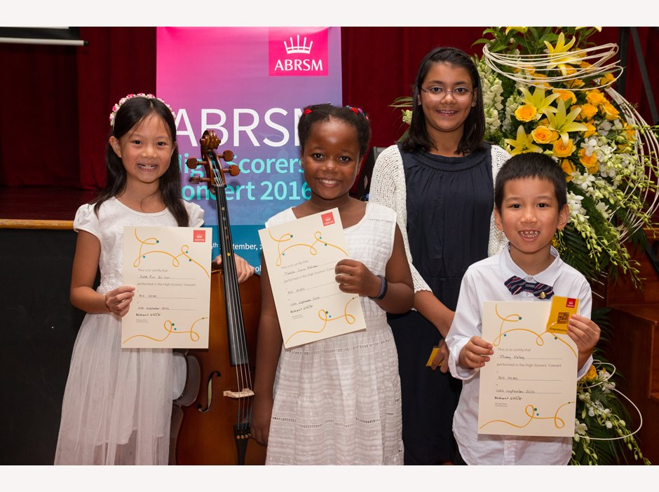 ABRSM High Scorers 2016 at BISHCMC 34