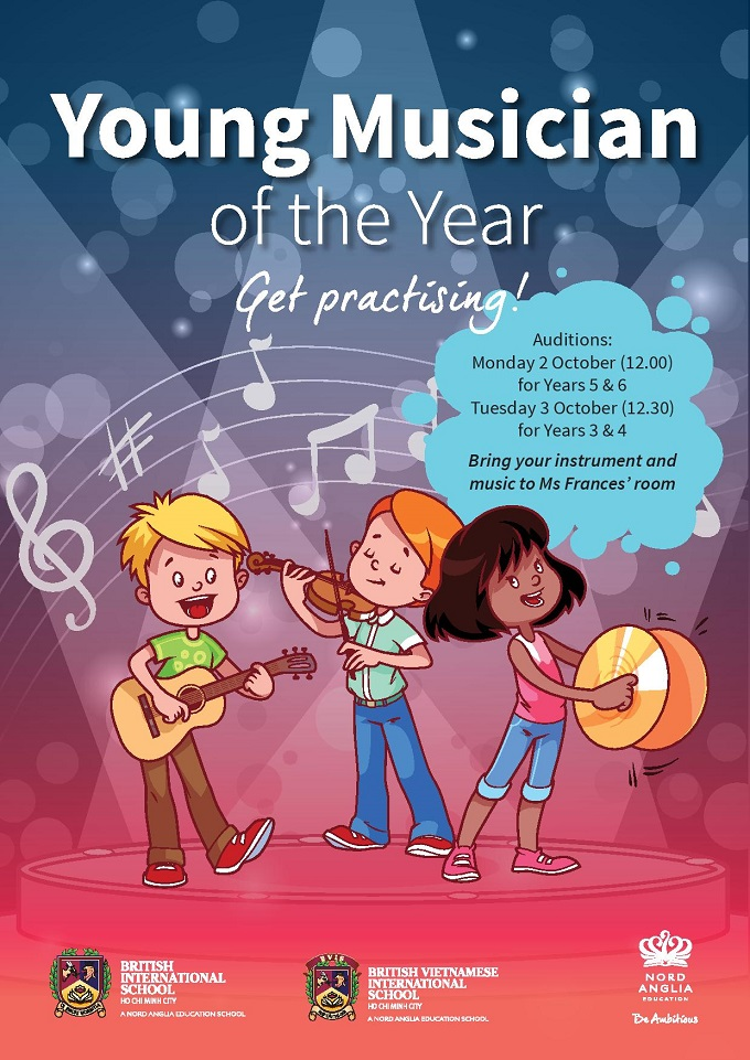 Young Musician 2017 poster