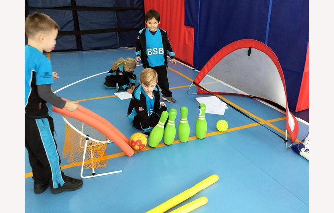 Incorporating Rube Goldberg into PE lessons