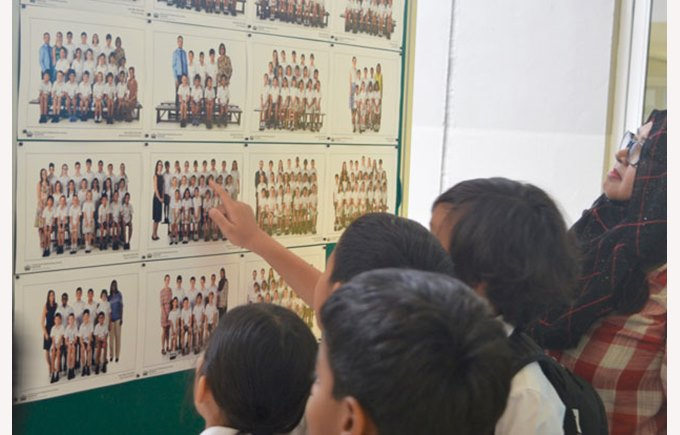 Official School Photos on display