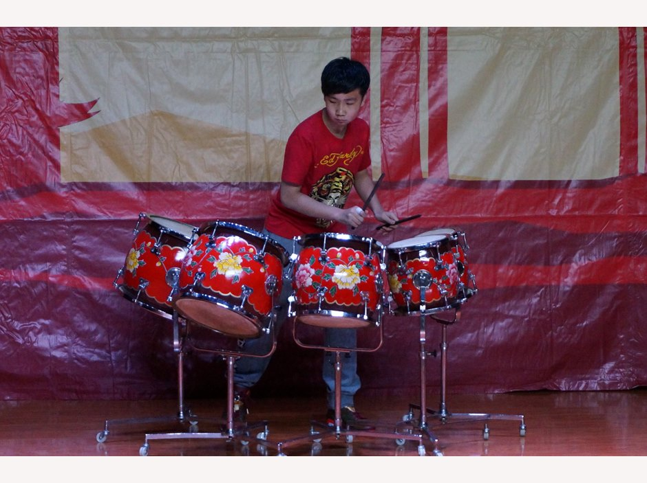 Chinese New Year - Drummer