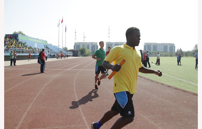 secondary sports day relay