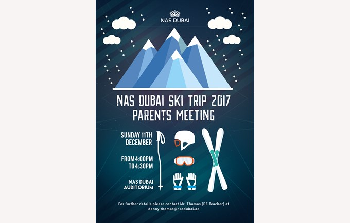 Ski Trip 2017 Parents Meeting
