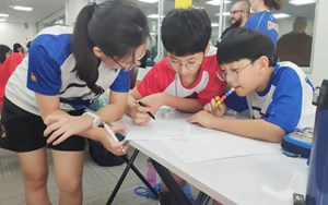 BIS HCMC Junior Saigon Mathematics Competition 5