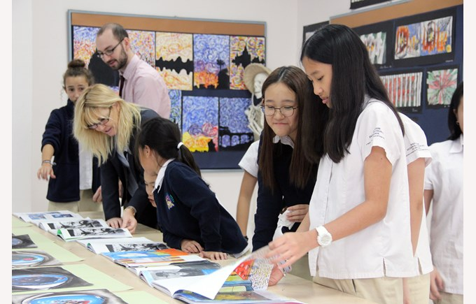 British International School Hanoi| Art trip