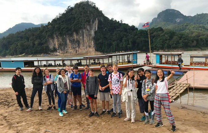 Year 9 Laos Trip 2018 Students
