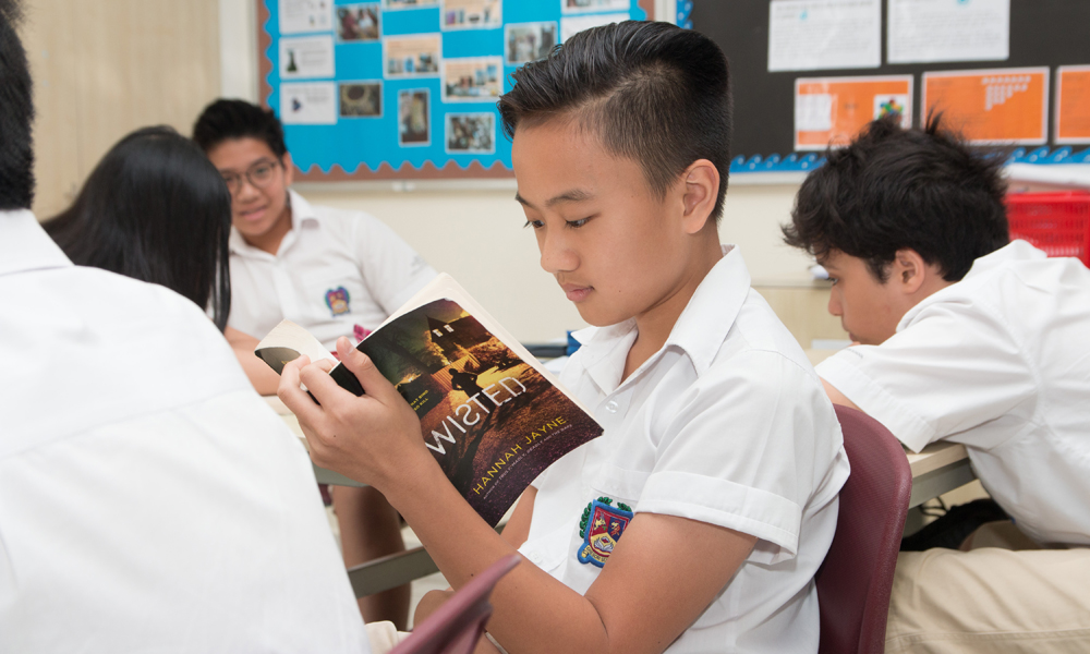 'Read a New Book Month' at the British International School, HCMC