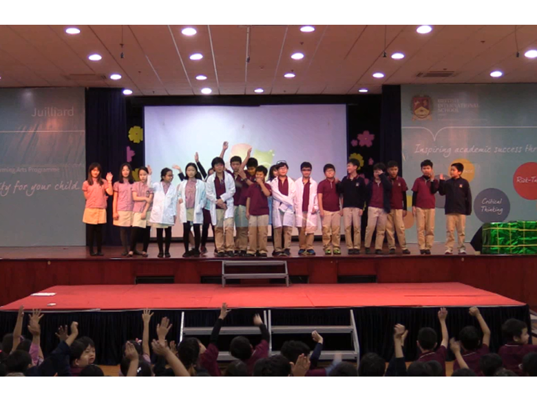 British International School Hanoi - 6I assembly