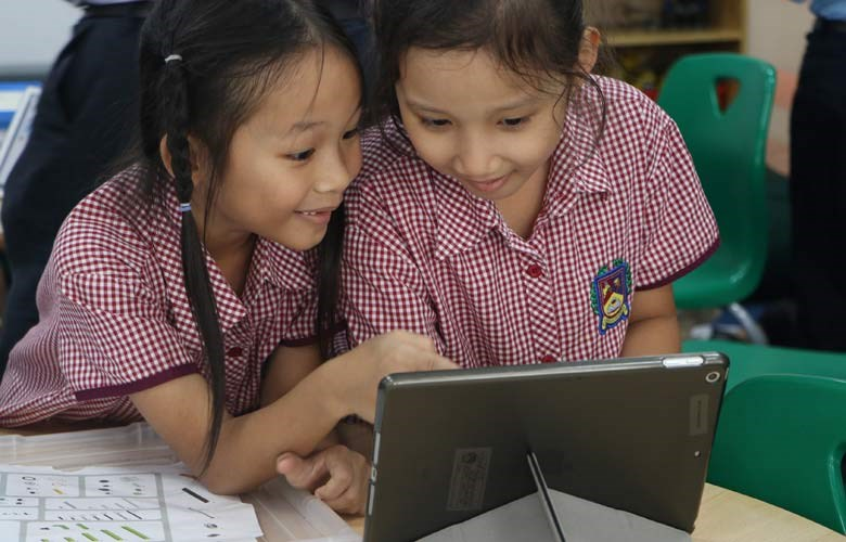 Mobile learning BIS HCMC