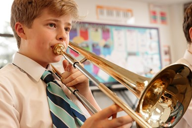 Boy Trumpet Juilliard Music curriculum