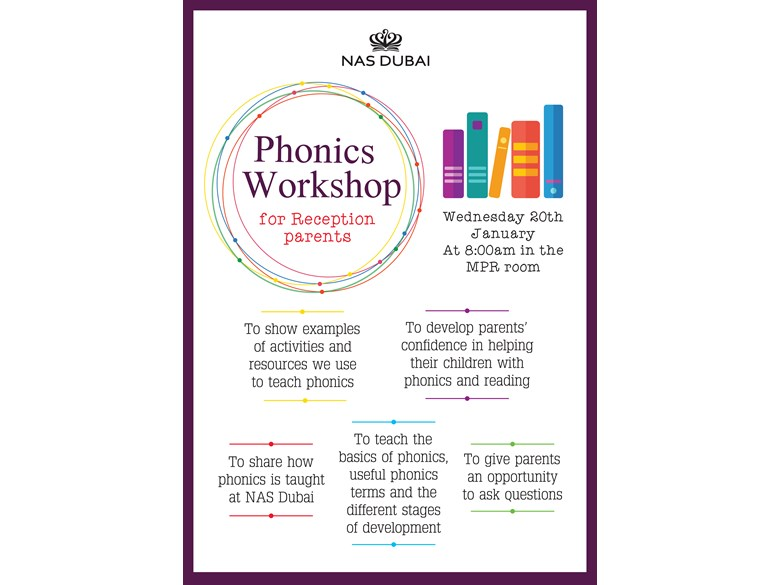 Phonics Workshop for Reception parents
