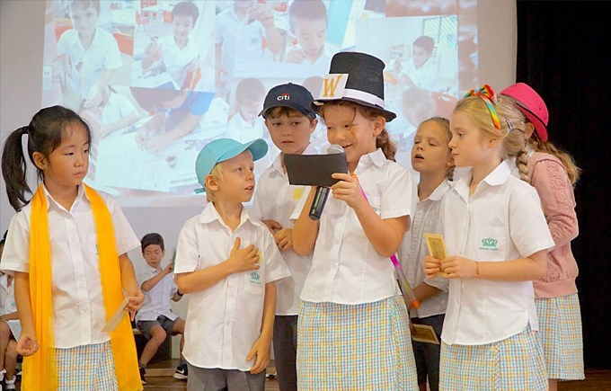 Upper Primary School Assembly: Chocolate by 3DH and 3RD