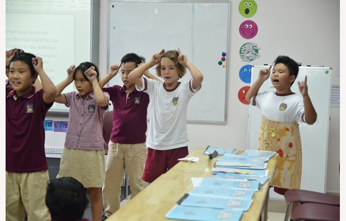 British International School Hanoi - Year 5 Myths and Legends