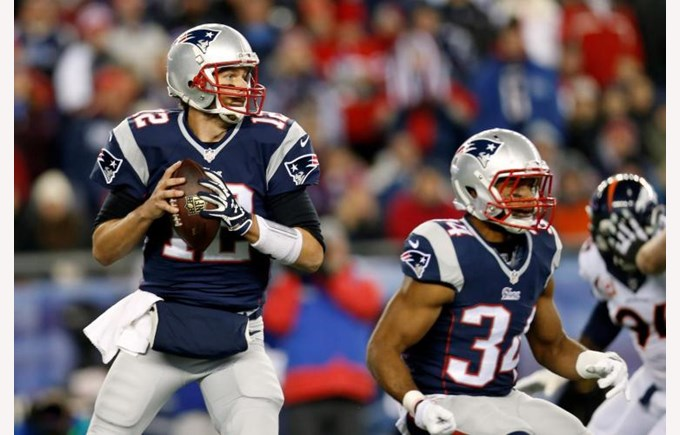 Tom Brady the Quarterback of the New England Patriots