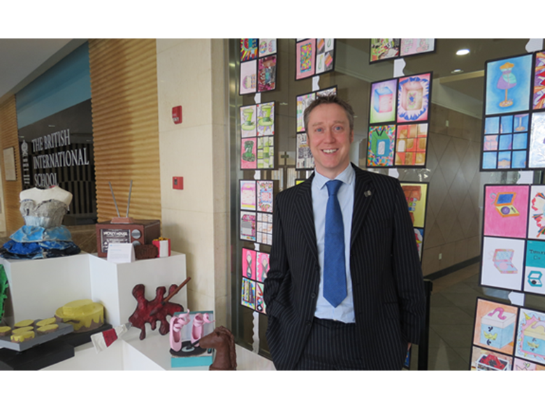 Andy Lancaster, Head of Key Stage 3 at the British International School Shanghai, Puxi
