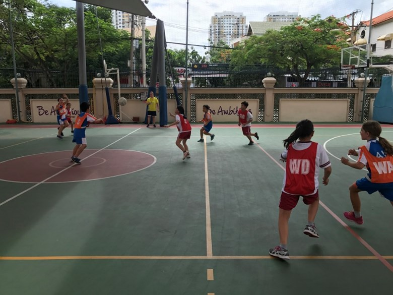 TX BIS HCMC Interschool Netball Tournament1