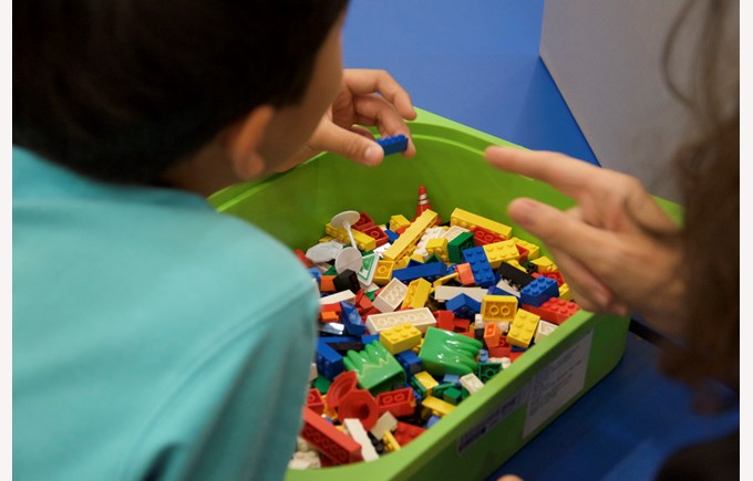 Lego Therapy at BSG