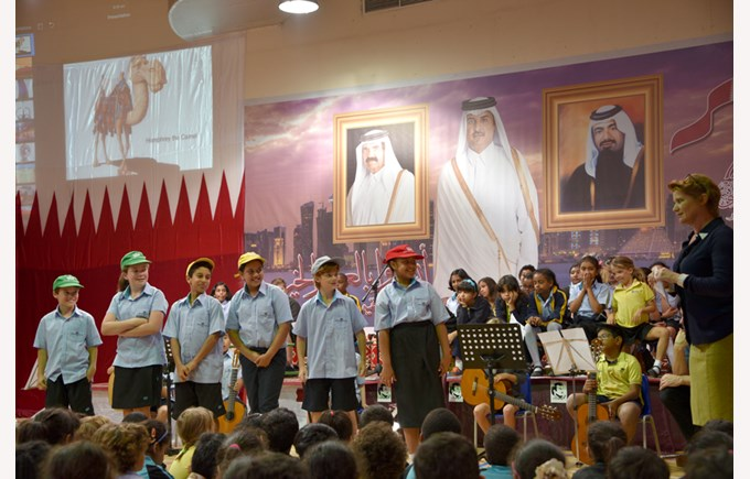 Gharaffa Music Assembly December