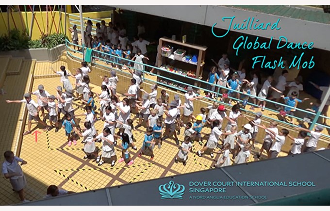 Juilliard Global Dance Flash Mob