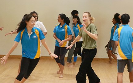 Dover Court Welcomes Gecko Company For Theatre Workshop