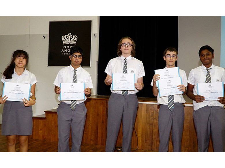 Secondary School Awards Assembly