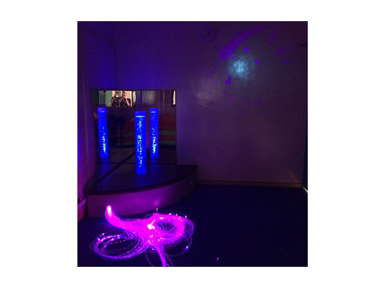 Newly Completed Sensory Room