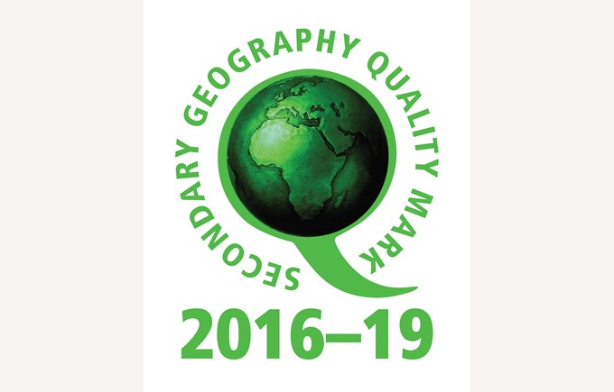 BSG Geography Quality Mark Award