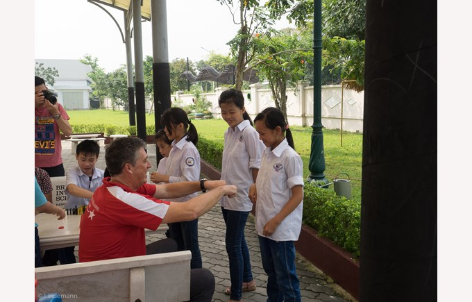 British International School Hanoi community service