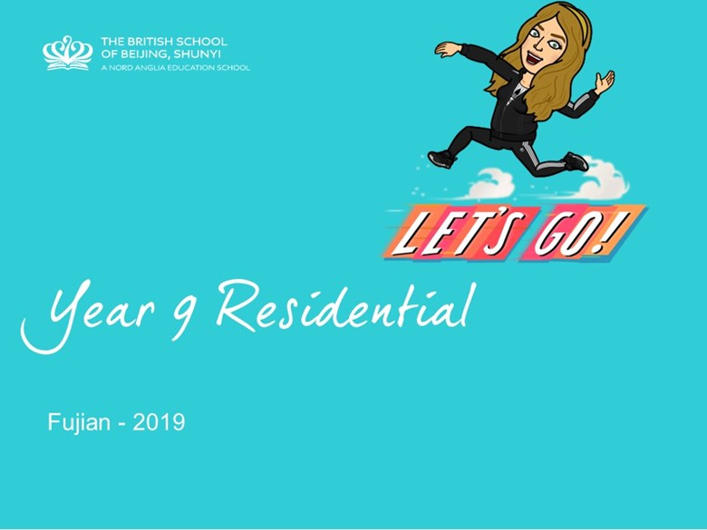 Year 9 2019 residential PPT