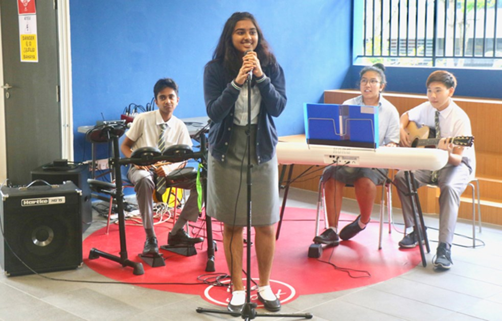 On the Spot Performance by Shravana and Band
