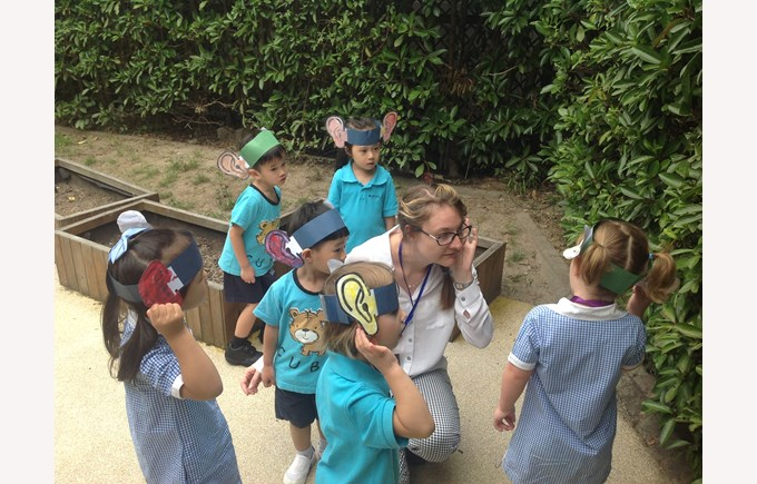 Exploring our environment with our 'listening ears'