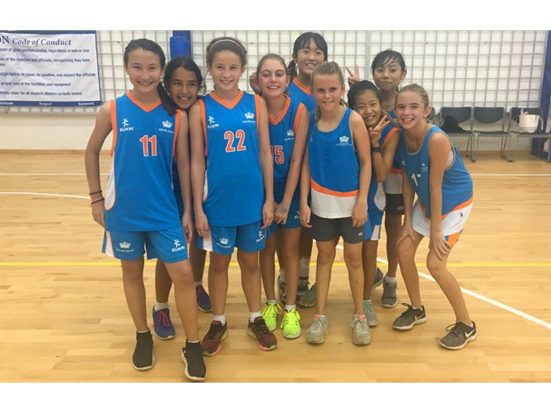Under 12 Girls Basketball Team