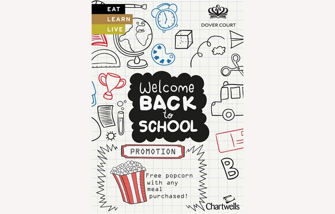 Chartwells Welcome Back to School