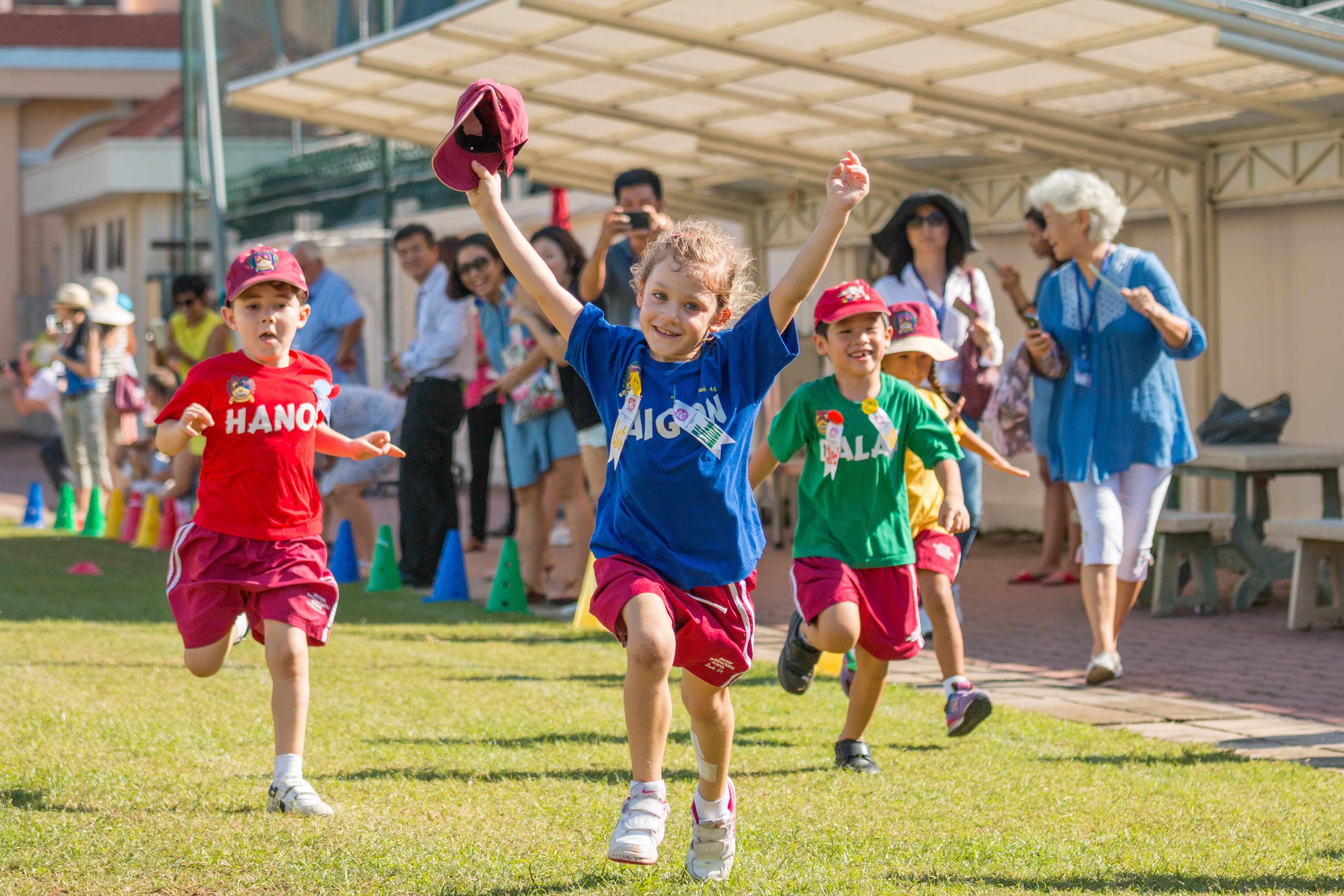 Sports Days at An Phu Primary Campus